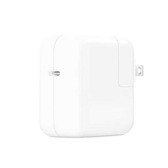 Apple 30W MacBook USB-C Power Adapter at Small Dog Electronics