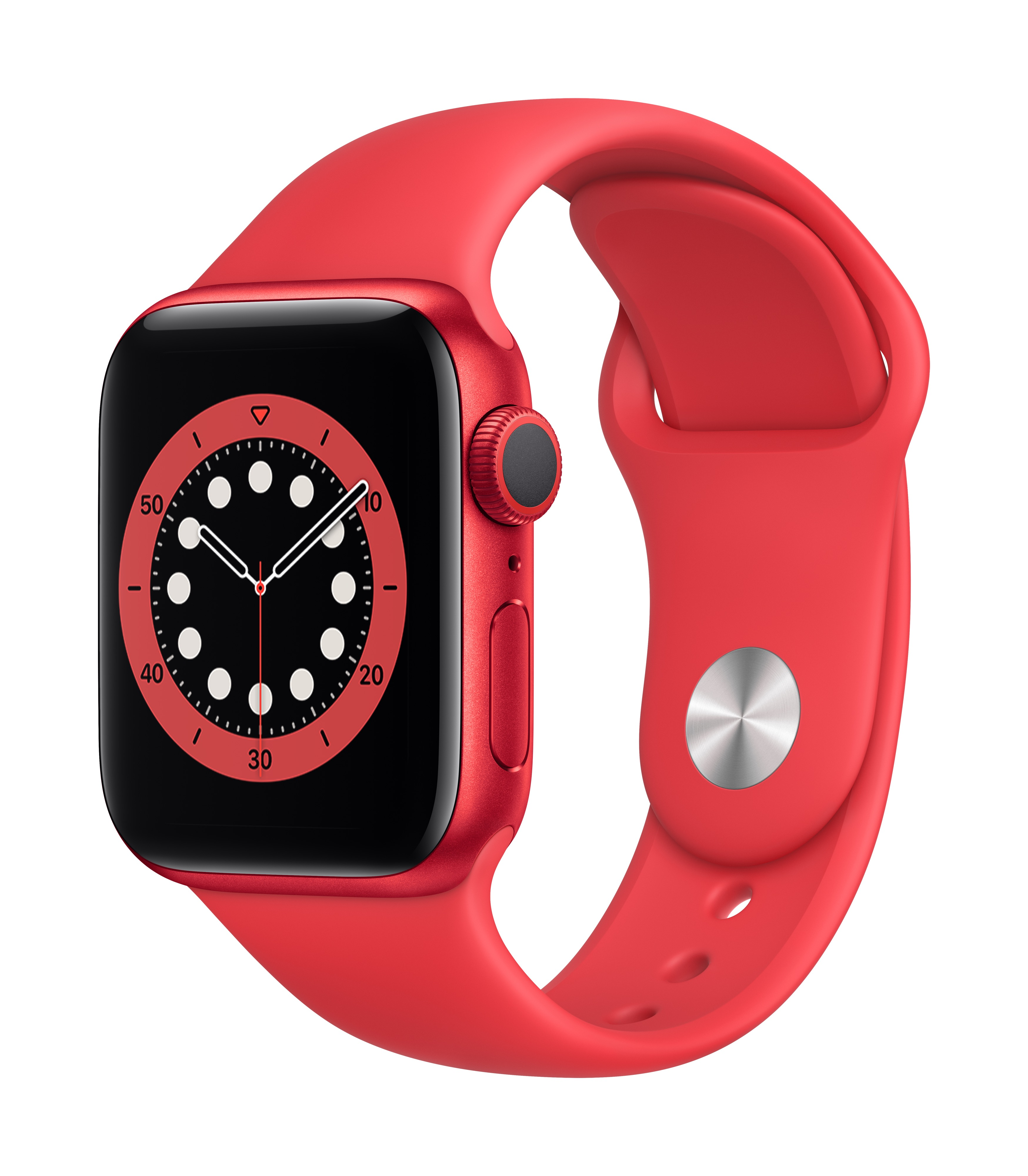 Apple Watch Series 6 GPS 40mm PRODUCT(RED) Aluminum w/ PRODUCT(RED) Sport Band at Small Dog Electronics