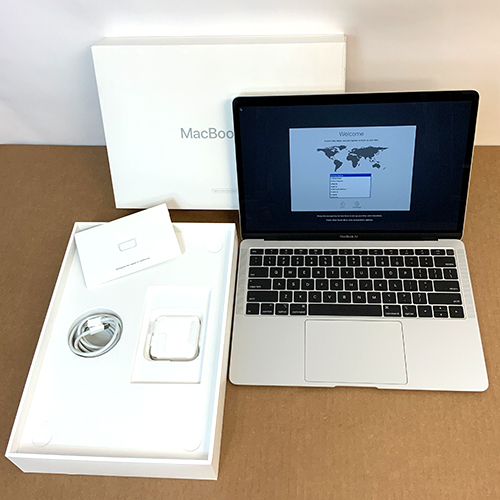 Refurbished - MacBook Air 13in 1.6GHz Dual-Core i5 8GB/256GB Silver MREC2LL/A at Small Dog Electronics