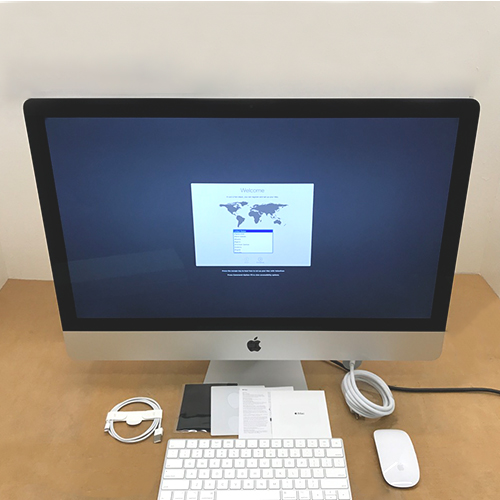 New, Open Box -  iMac 27in Retina 5K 3.4GHz i5 8GB/1TB Fusion RP570 4GB MNE92LL/A at Small Dog Electronics