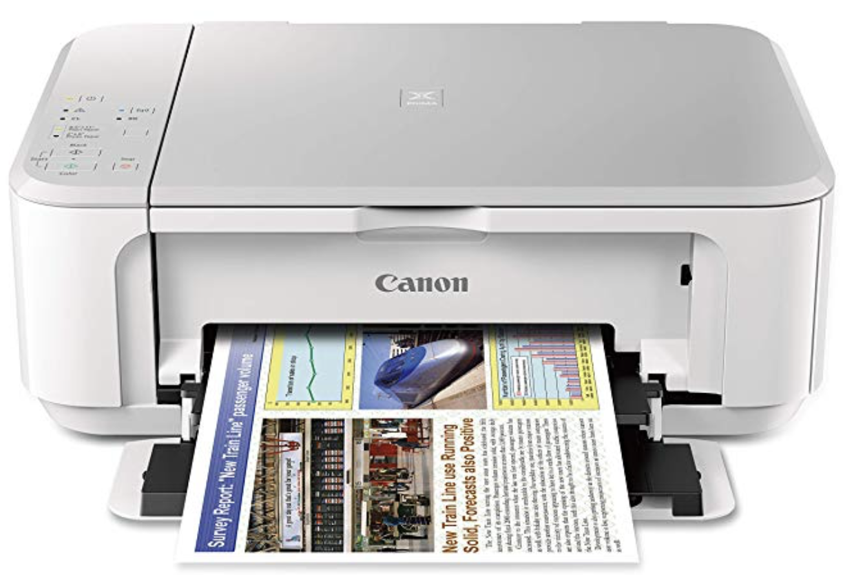 Canon PIXMA MG3620 Inkjet Multifunction/Photo Printer - White at Small Dog Electronics