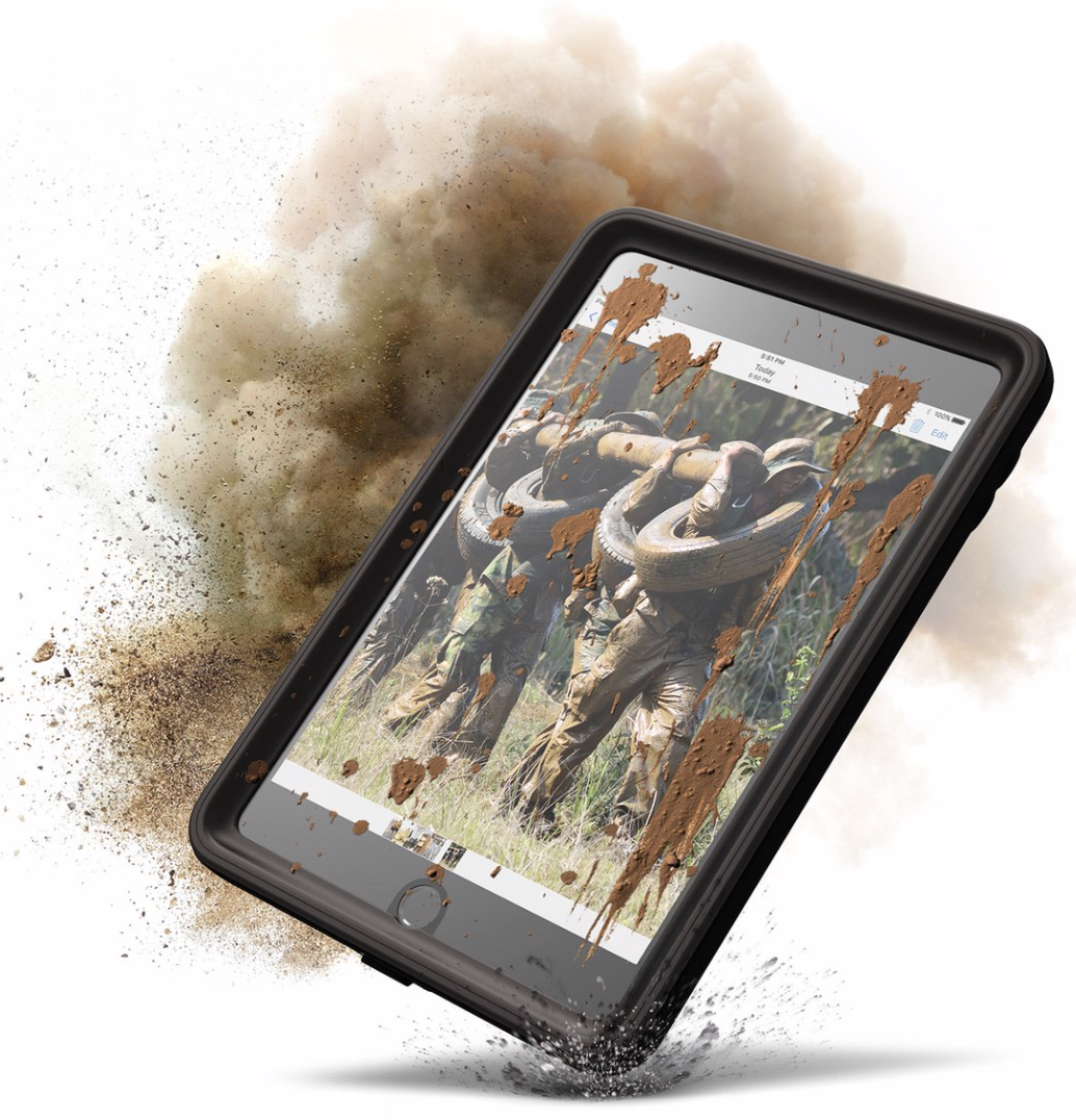 Catalyst Waterproof Case for iPad Mini 4 - Stealth Black at Small Dog Electronics