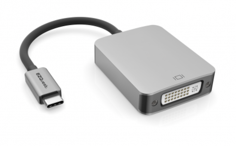 EZQuest USB-C to DVI Adapter at Small Dog Electronics