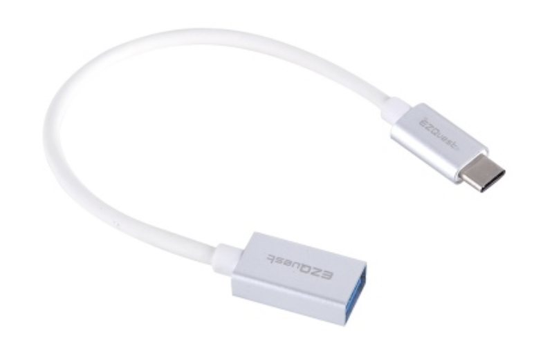 EZQuest USB-C to USB-A 3.0 Female Adapter at Small Dog Electronics
