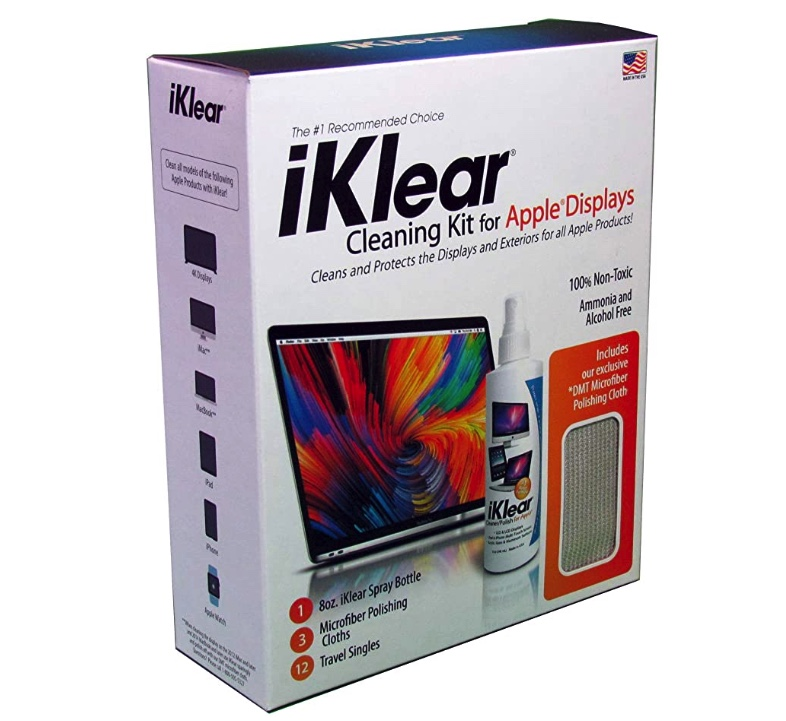 iKlear Apple Polish Cleaning Kit at Small Dog Electronics