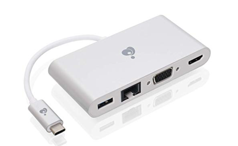 IOGear ViewPro-C, 4-in-1 USB-C Video Adapter at Small Dog Electronics