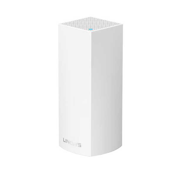 Linksys Velop Tri-Band Mesh Networking Wireless Router, 1-Pack - White at Small Dog Electronics