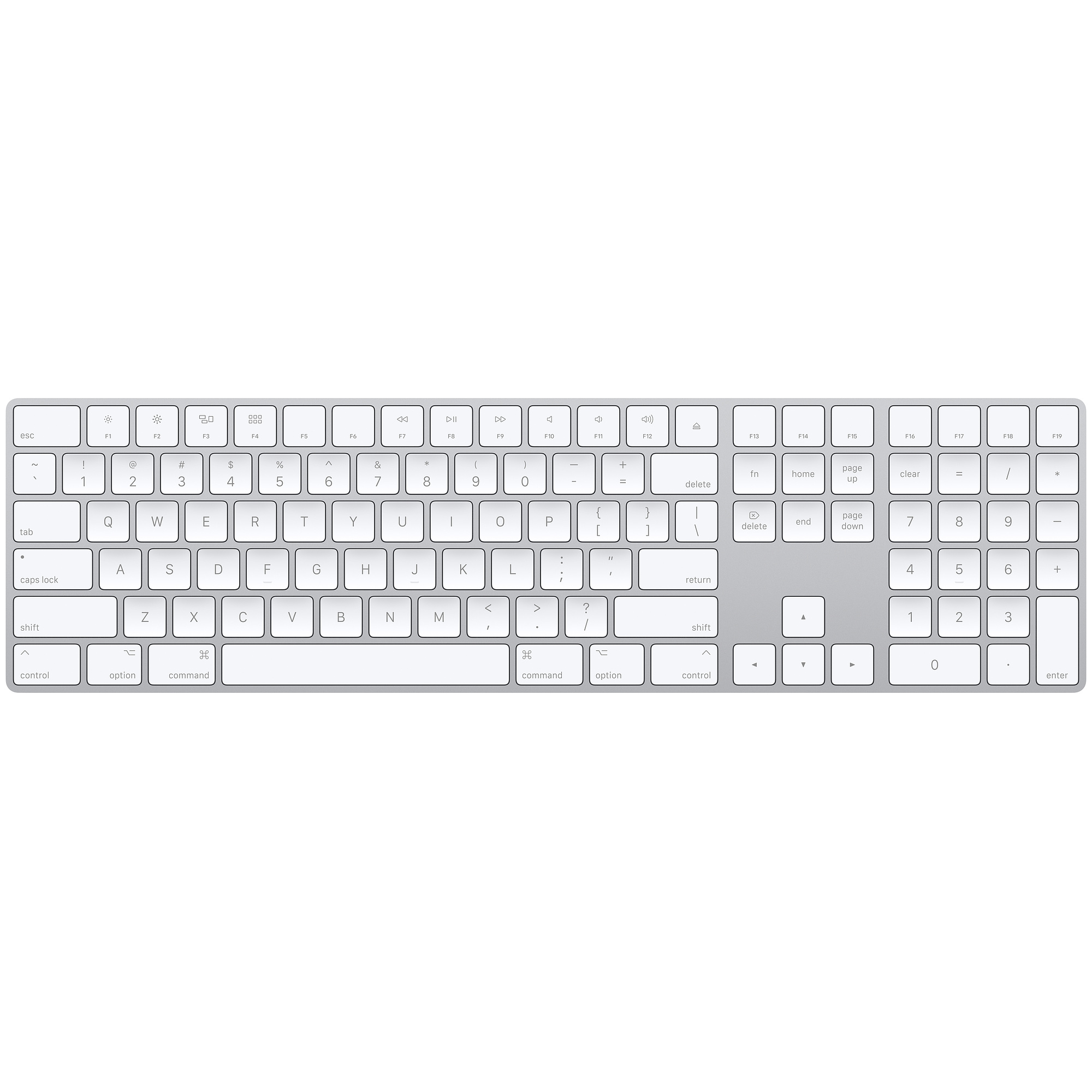 Apple Magic Keyboard W/ Numeric Keypad at Small Dog Electronics