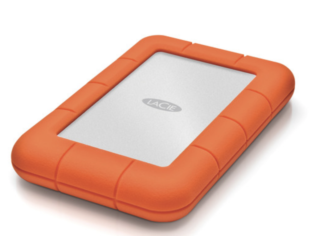 LaCie Rugged USB-C 2.5 External Hard Drive - 2TB at Small Dog Electronics
