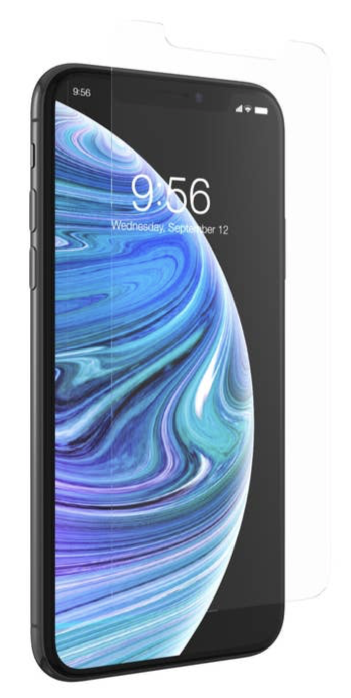 Zagg invisibleSHIELD Glass+ Screen Protector Clear - iPhone X/XS at Small Dog Electronics