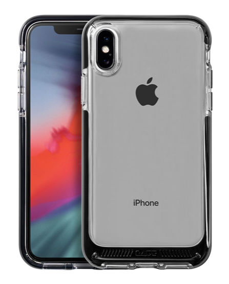 Laut Fluro Crystal for iPhone Xs Max - Black at Small Dog Electronics