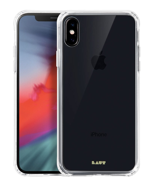 Laut Crystal-X Tempered Glass Case for iPhone X/Xs - Clear at Small Dog Electronics