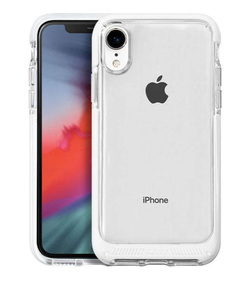 Laut Fluro Crystal for iPhone XR - White at Small Dog Electronics