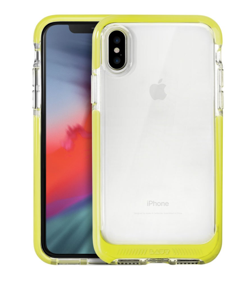 Laut Fluro Crystal for iPhone X/Xs - Yellow at Small Dog Electronics