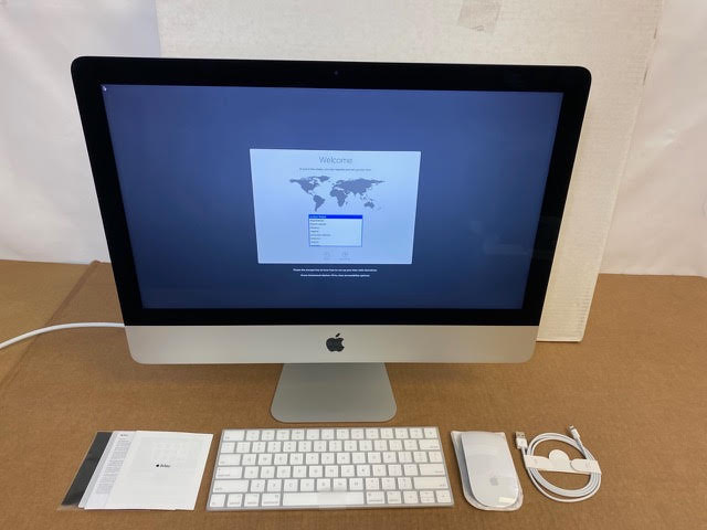 USED - iMac 21.5in 3.0GHz i5 Retina 4K 8GB/1TB Fusion RP555 2GB at Small Dog Electronics